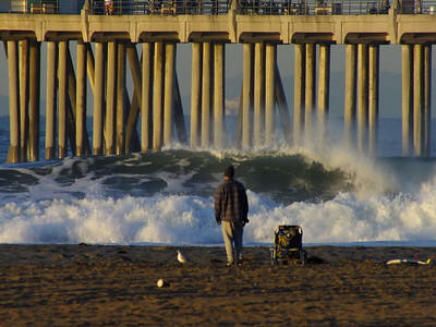 ALL JULY 2021 DAILY SURFING VIDEOS * H.B. PIER