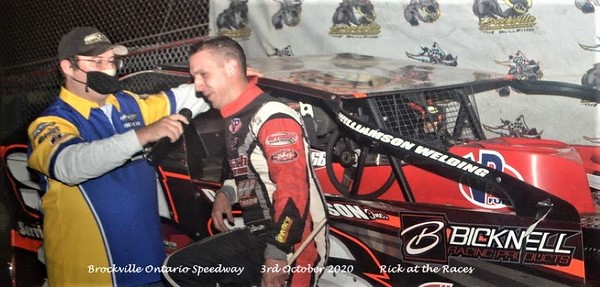 Brockvile Ontario Speedway - Fall Nationals - 10/3/20 - Rick Young