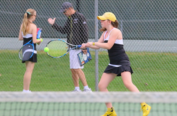 WUHS Girls Tennis at Home