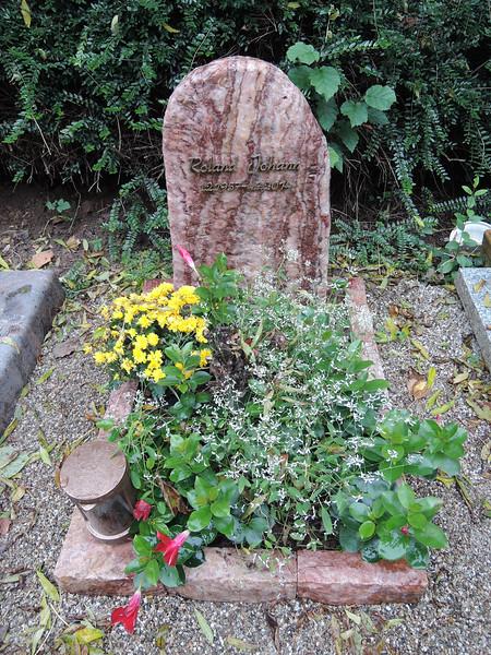 Urnengrabstätte Quarz