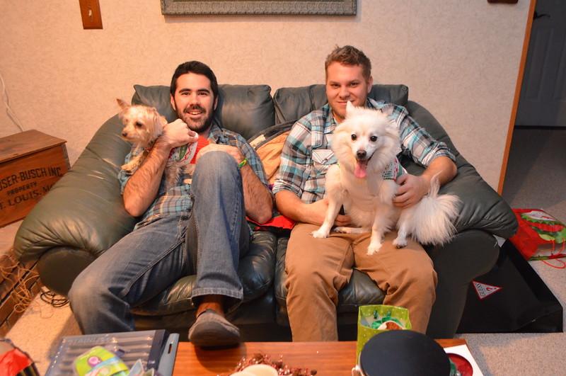 The boys and Peach.