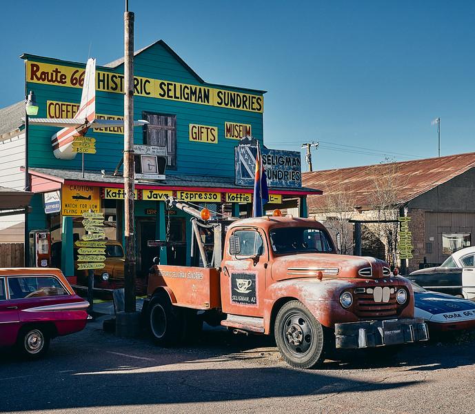 Route 66 - Seligman, Arizona