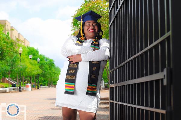 Camille Charda' 2021 JSU Graduate