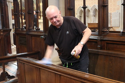 Preparing for Easter at St Mary's - 20 April 2019