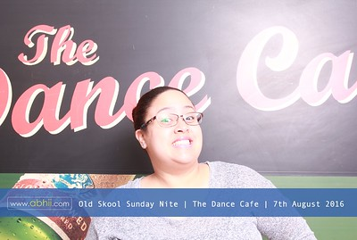 Dance Cafe - 7th August 2016
