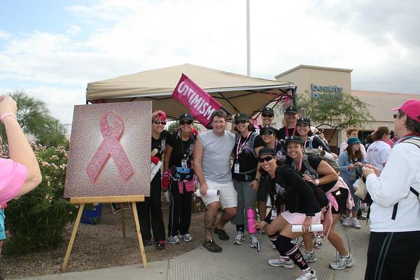 Nov 14-15, '09: Phoenix AZ - 3 Day Breast Cancer Walk