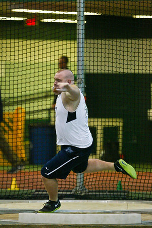 Shot Put - 2013 MAC Indoor Meet