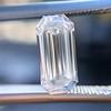 1.03ct Elongated Emerald Cut Diamond GIA E VS1 1