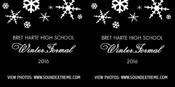 2016 Bret Harte Winter Formal