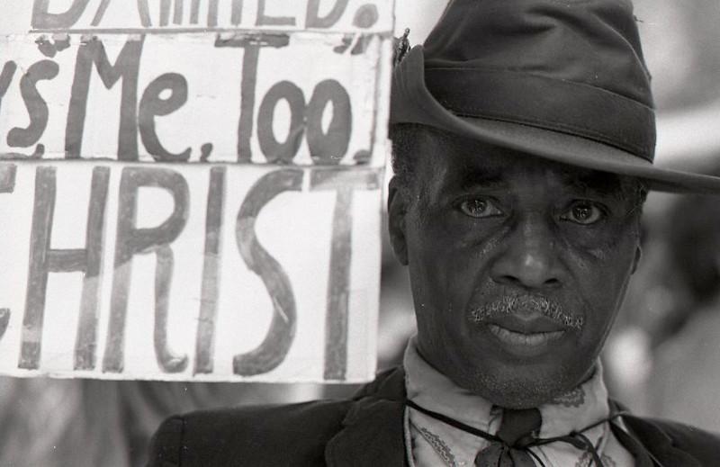 Me too. Anti-war demonstration, Washington DC, May 9, 1970.