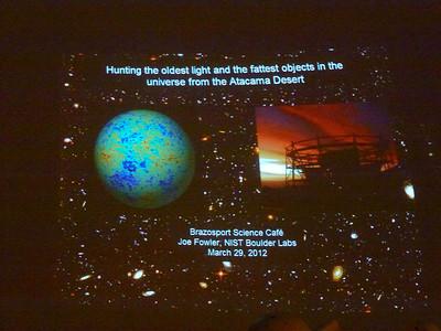 Brazosport Science Cafe 3/29/2012