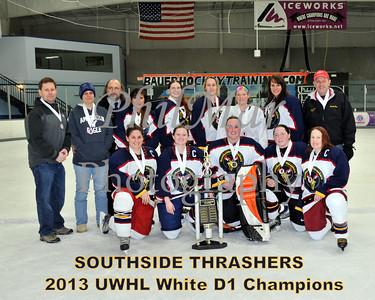 White D1 Championship - Hawks vs Thrashers