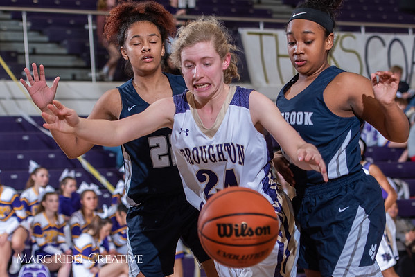 Broughton girls varsity basketball vs Millbrook. February 15, 2019. 750_7360