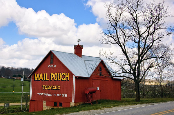 Mail Pouch and Other Advertising Barns