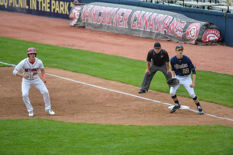 College Prep Baseball at Nat Bailey Stadium