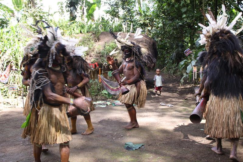 Spirit dance in Wabia village
