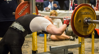 Dee Dang at Powerlifting Championships