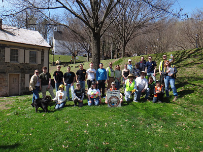 4.12.14 Watershed Cleanup in Tiber Hudson Streams in Historic Ellicott City