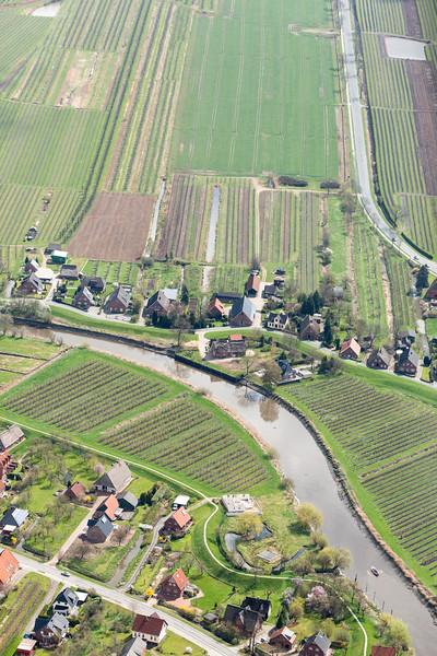 Luftbild Altes Land