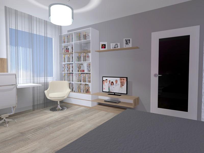 03_z postele na TV a knihovnu.jpg