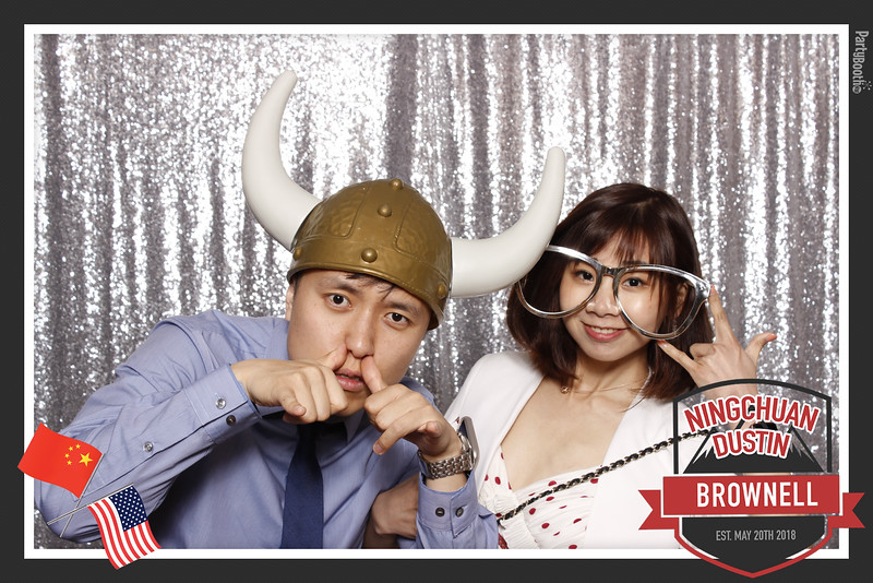 Congratulations Ningchuan and Dustin – Tonight We PartyBooth!