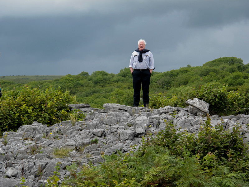 Jim August, 2017  Ireland