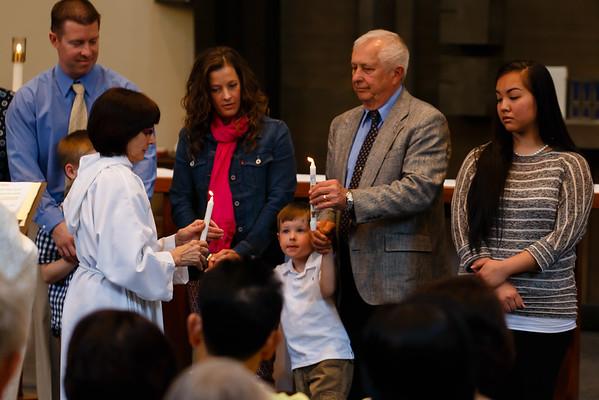 April 19, 2015  - Baptisms 11:30 Mass