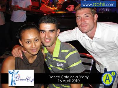 Dance Cafe - 16th April 2010