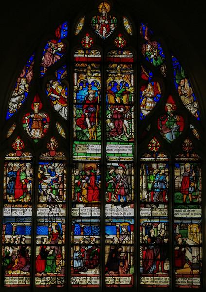 Bar-sur-Seine Church of Saint-Stephen Saint-Roche Window