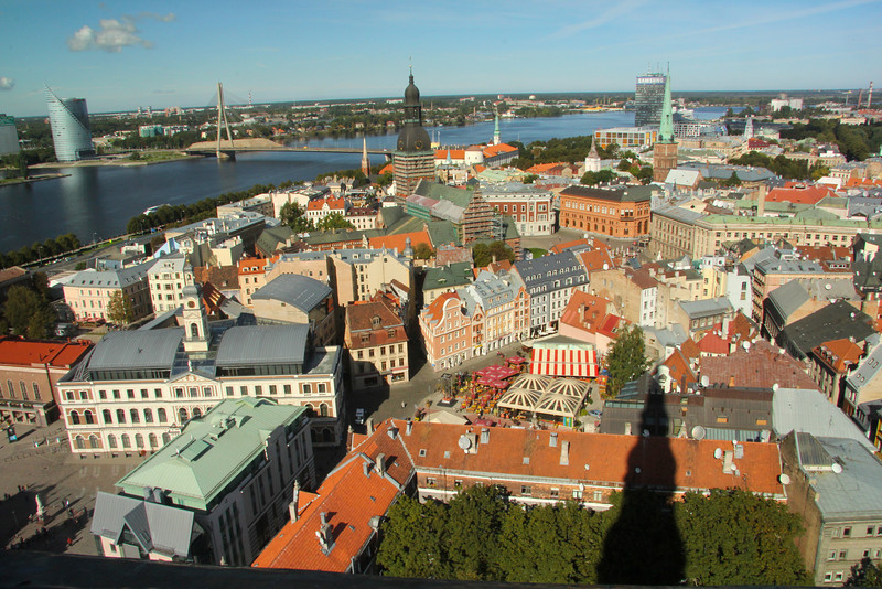 RIGA, LATVIA The capital and largest city of Latvia, with its' approx. 700,000 inhabitants, it is also the largest city of the Baltic States. Founded in 1201 by German traders, it has also been ruled by Sweden and Russia during it's long history.
