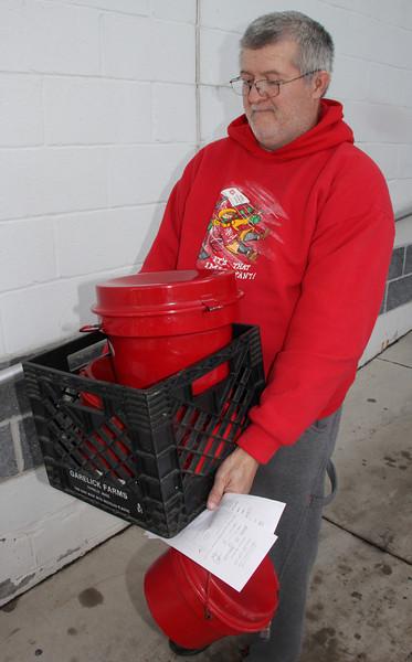 Jessie Durning, Kettle Coordinator, Volunteer, Salvation Army, Tamaqua (12-19-2013)