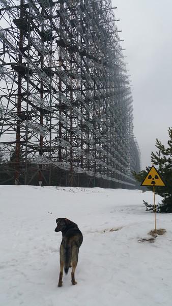 Duga Radar Aray,Chernobyl 2 village,Ukraine 2018