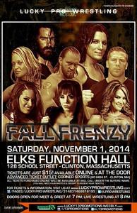 11/1/14  Fall Frenzy