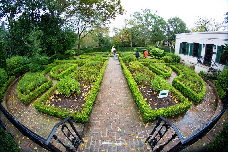 The Museum's formal garden