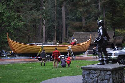 Viking ship launch 11-4-17