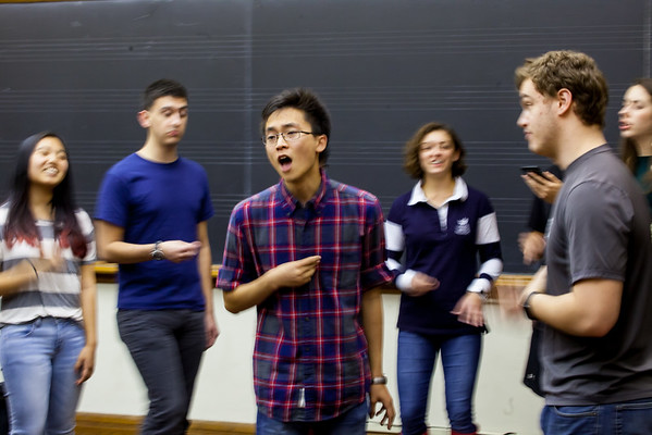 Pitches Rehearsal Oct 2016