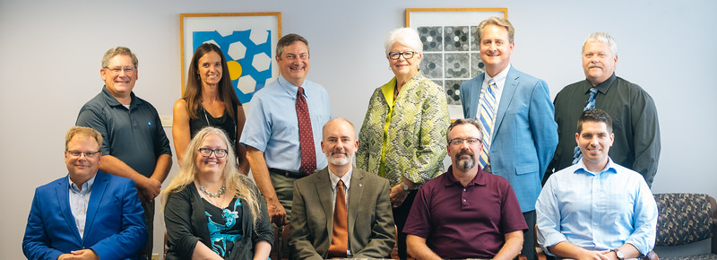 2018-2019 Faculty Senate Executive Committee