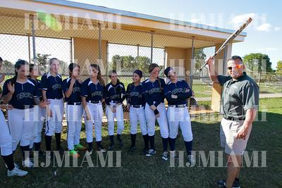 Terra Varsity Softball Girls 02/15/2018