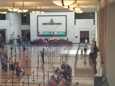 Washington DC vacation (Capital building tour)