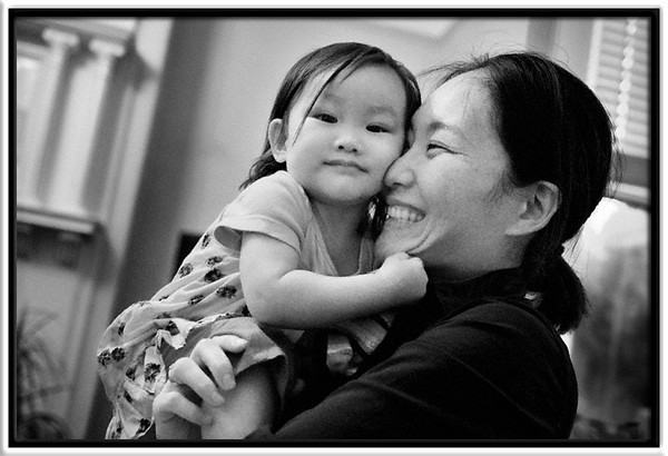 Keiko & Mari  Keiko at 20 months  Noe Valley, San Francisco, California  03-SEP-2012