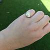 1.02ct Round Brilliant Diamond Bezel Ring 22