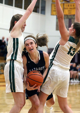Nazareth girls basketball vs. Fremd