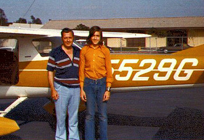 My First Solo Flight, May 1973