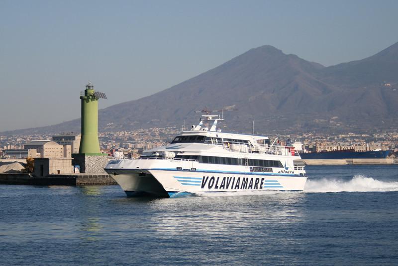 2008 - NETTUNO JET arriving to Napoli.