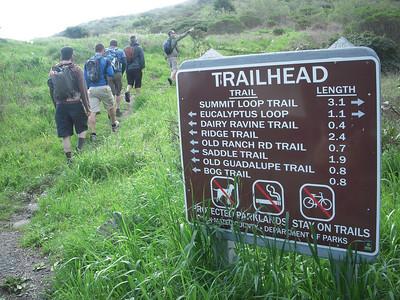 San Bruno Hike 3.7.10