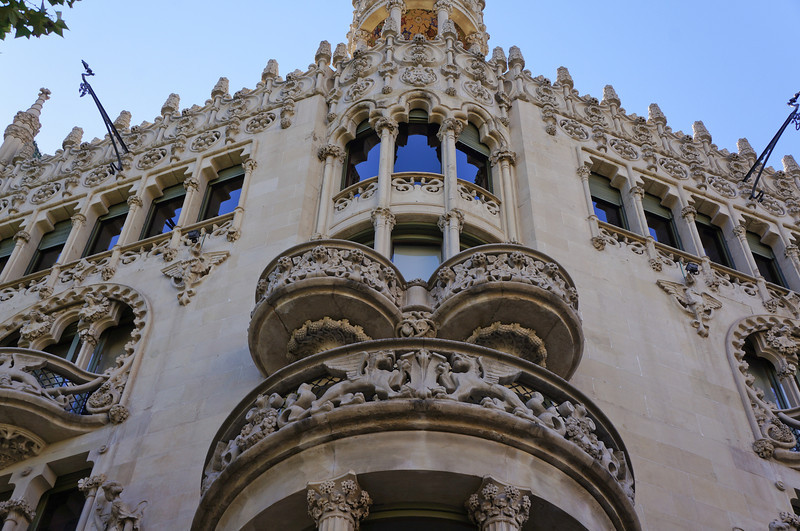 Mansana de la Discordia is an area of Barcelona that houses three of the most uniquely designed buildings in the world.