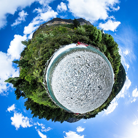 Queenstown Tiny Planet Photos