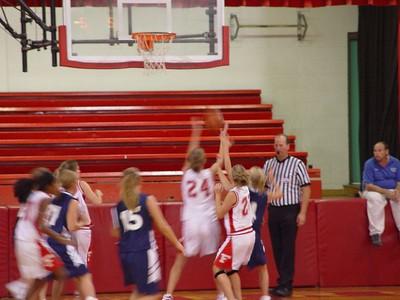 Girls Junior Varsity Basketball - 2005 -2006 - 9/06/2005 vs. Fruitport