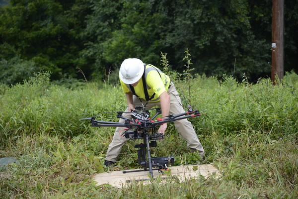 PPL & Hazon Solutions drone demonstration