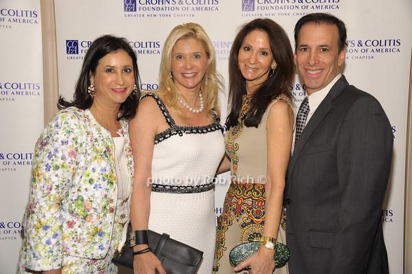 Elyse Newhouse, Michelle Swarzman, Michele Berger, Paul Berger photo by Rob Rich/SocietyAllure.com © 2014 robwayne1@aol.com 516-676-3939